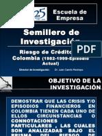 RIESGO DE CREDITO EN COLOMBIA