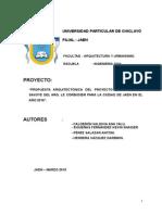 Universidad Particular de Chiclayo- Proyecto