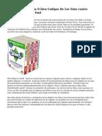 Coleccion De Trucos O bien Codigos De Los Sims cuatro Juego Base ~ Sims Soul