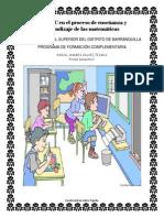 Las TIC en El Proceso de Enseñanza y Aprendizaje