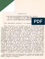 Merleau Ponty La Estructura Del Comportamiento Capitulo IV
