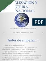 Globalización y Estructura Internacional