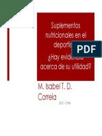 Suplementos Nutricionale Deportista Dra Correia