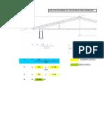 Calculo de altura de techo inclinido