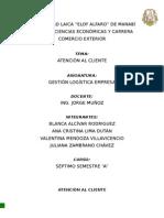 Atención Al Cliente - Gestion Logistica Empresarial (1)