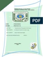 Informe de Pos Cosecha de Xyjy Xx