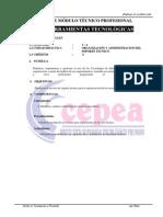 Organización y Administracion Del Soporte Tecnico