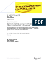 certificate of employment sample.doc