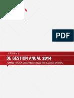 Informe de Gestión PDVSA 2014 PARTE I