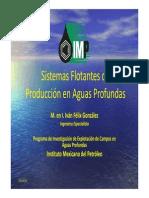 Sistemas Flotantes de Producción en Aguas Produndas -Iván Félix González