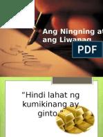 Ang Ningning at Ang Liwanag