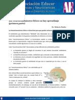 Sin Neurotransmisores Felices No Hay Aprendizaje (Primera Parte). Www.asociacioneducar.com