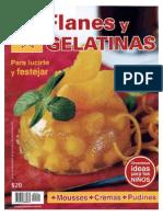 Cocina Estrella # 100 Flanes y Gelatinas Para Lucirte y Festejar