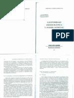 Legitimidad Democratica y Poder Judicial-Garcia Pascual, Cristina