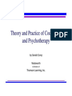 theory of practie of counseling and psuchotheraphy