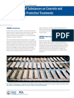 Effects of Substances on Concrete and Guide to Protective Treatments