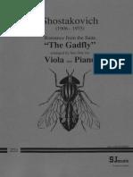 Shostakovich - Romance (the Gadfly) (Arr. Viola y Piano)