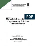 Manual de procedimientos parlamentarios