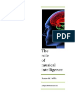 The Role of Musical Intelligence in a  Multiple Intelligences Focused Elementary School
