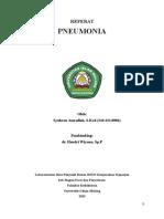 Pneumonia Syukron