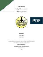 MINERAL INDUSTRI NON LOGAM ( KUARSA )