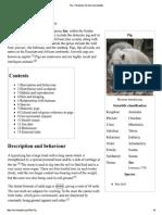 Pig - Wikipedia, The Free Encyclopedia