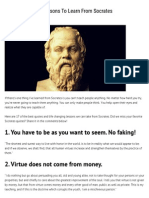 17 Life Changing Lessons to Learn From Socrates