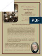4th BP Memorial Lecture and Symposium 30th October 2015
