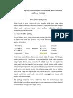 Analisis Pembuatan Asam Lemak