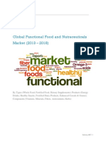 Functional Food and Nutraceuticals Market