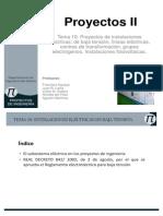 PII. T10 Proyectos de Instalaciones Electricas_pub