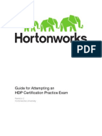 Guide for HDPCD Certification Practice Exam