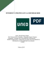 INTERNET Y POLÍTICA EN LA SOCIEDAD RED