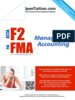 ACCA F2 December 2015 Notes