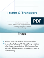 triage & transport.ppt