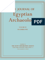 Journal of Egyptian Arheology - Volume 41