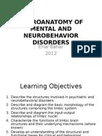 NEUROANATOMY OF MENTAL AND NEUROBEHAVIOR DISORDERS-2011.ppt