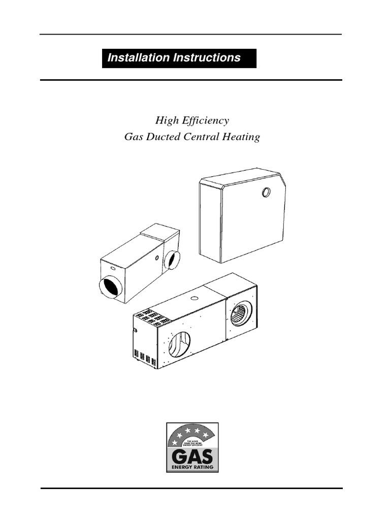 vulcan installation manual