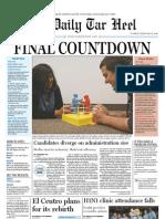 The Daily Tar Heel for Feb. 16, 2010