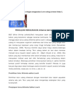 Uji Toksisitas Antitumor Dengan Mengunakan Larva Udang Artemia Salina L