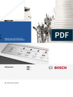Bosch - Dishwasher Manual