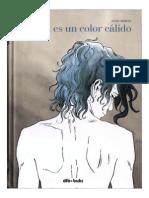 El Azul Es Un Color Cálido (Comic)