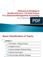Webcast Final p 5 Advanced Management Accounting