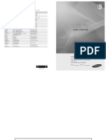 Samsung LE-26B350 User Manual