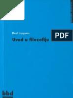 Karl Jaspers - Uvod u filozofiju