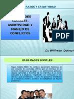 Unidad Viii b Habilidades Sociales, Asertividad y Manejo de Conflictos 2011 San Marcos