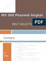 09_C_ Belt Conveyor Selection