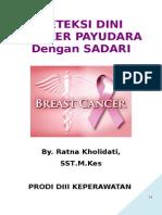 Materi Deteksi Dini Kanker Payudara Dengan Sadari