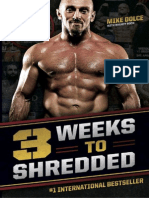 The Dolce Diet -3 Weeks to Shredded - Dolce, M.