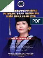 Upaya Peningkatan Partisipasi Masyarakat Dalam Pengelolaan Ruang Terbuka Hijau - Prof Dr Sumarmi MPd
